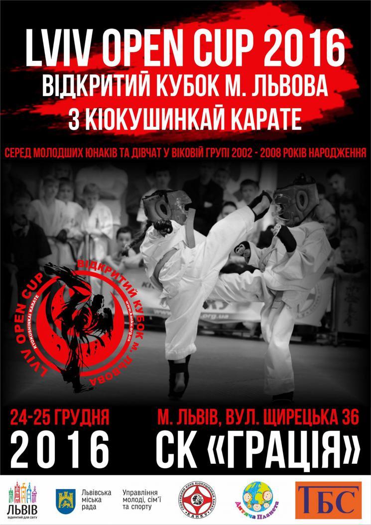 Відкритий Кубок м. Львова 2016